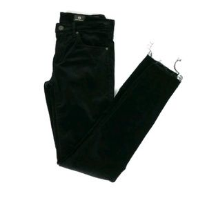 Adriano Goldschmied velvet super skinny pants